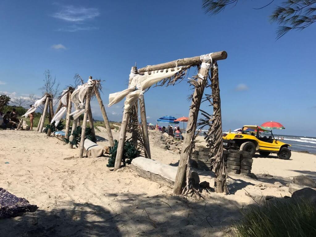 Ruinas ilha comprida