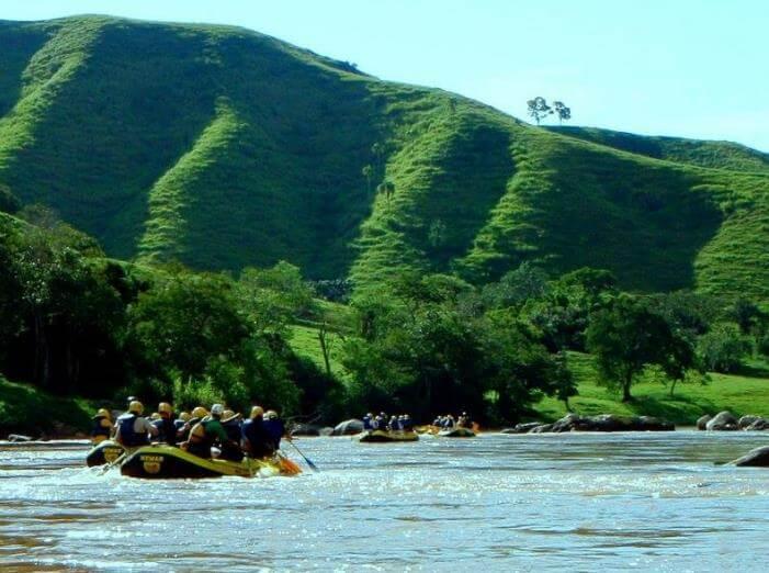 Rafting para iniciantes - Foto.: Rafting Curitiba